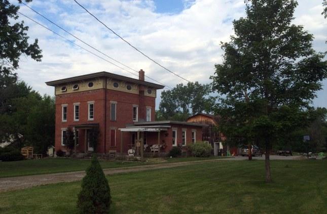 Old House on Nickel Plate Diagonal Road