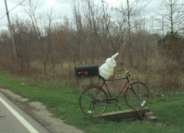 bike mailbox